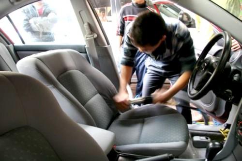 Quy trình nội thất xe ô tô
