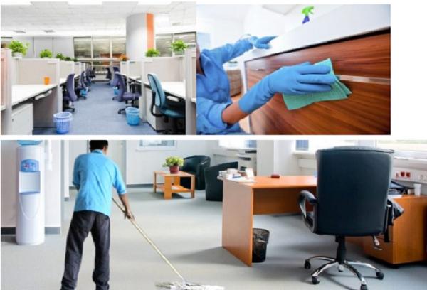 Dịch vụ vệ sinh văn phòng tại Bình Dương