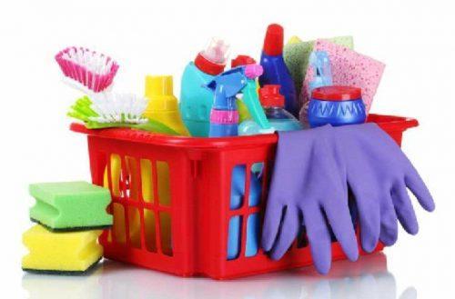 Dụng cụ và hóa chất sử dụng trong vệ sinh công nghiệp