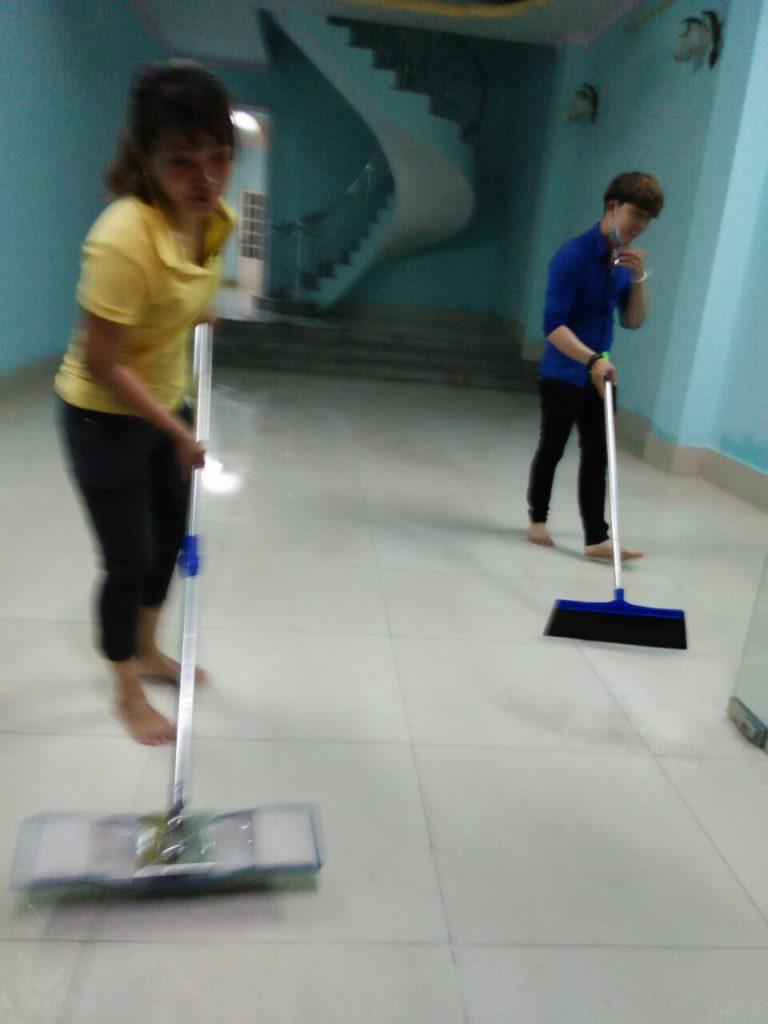 Dịch vụ vệ sinh Hoàn Hảo